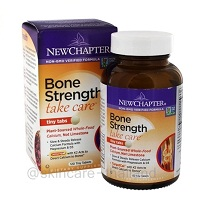 New Chapter Bone Strength Take Care 120 tiny Tablets